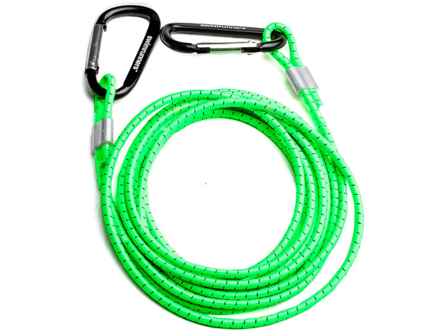 Swimrunners Support Cinturón pull 3m, neon green